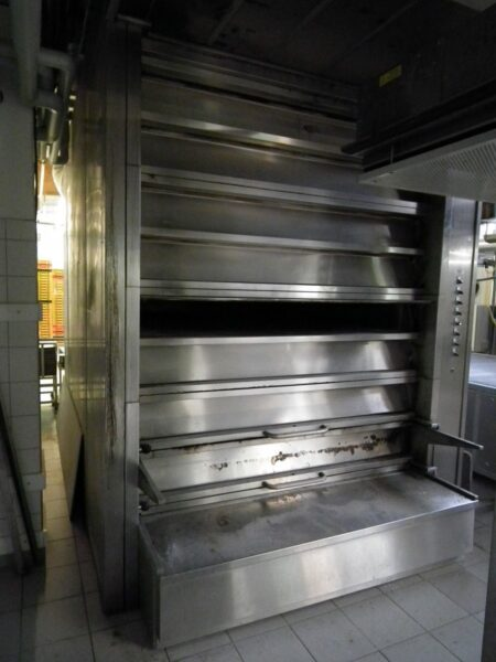 [065] HEUFT VATO deck oven with thermal-oil circulating heating system