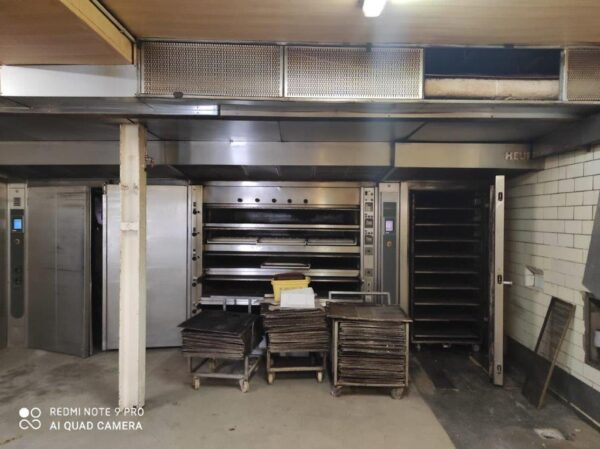 [070] HEUFT VO 31632 thermo-oil deck oven