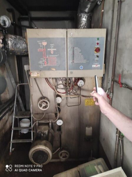 [071] Thermo-oil boiler HEUFT HK230