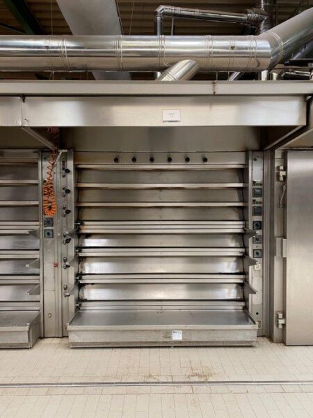 [076] Thermo-oil deck oven HEUFT VTO 31642
